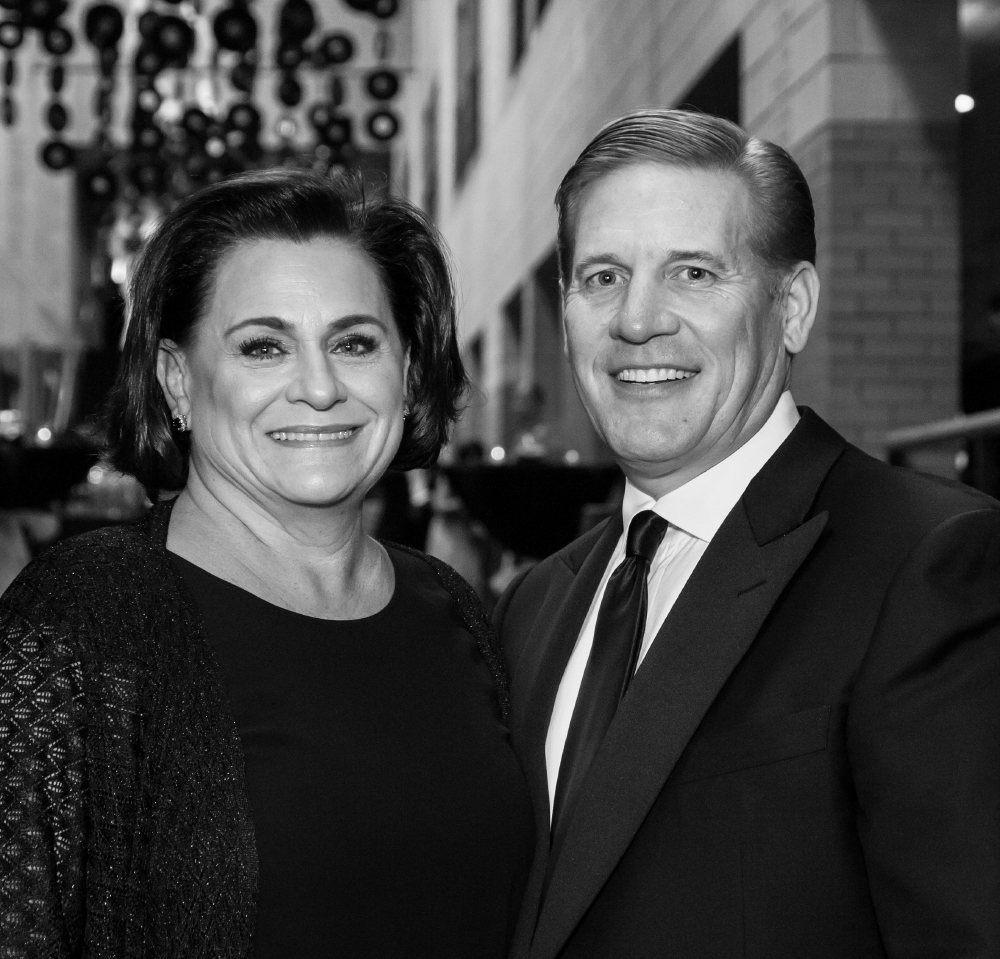 Kevin Clayton '84 '13P and his wife, Lisa