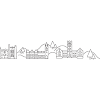 Lehigh Campus sketch coloring page preview