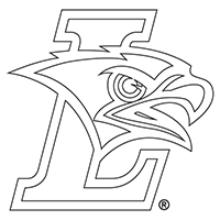 Lehigh Mountain Hawk Athletics logo coloring page preview