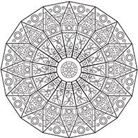 Linderman Library Dome coloring page preview