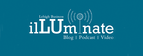 logo for ilLUminate, the blog and podcast for Lehigh Business